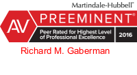Richard M. Gaberman AV Preeminent